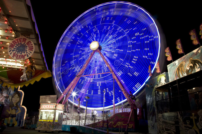 Download Date Festival Ferris Wheel editorial stock image. Image of entertainment - 20374029