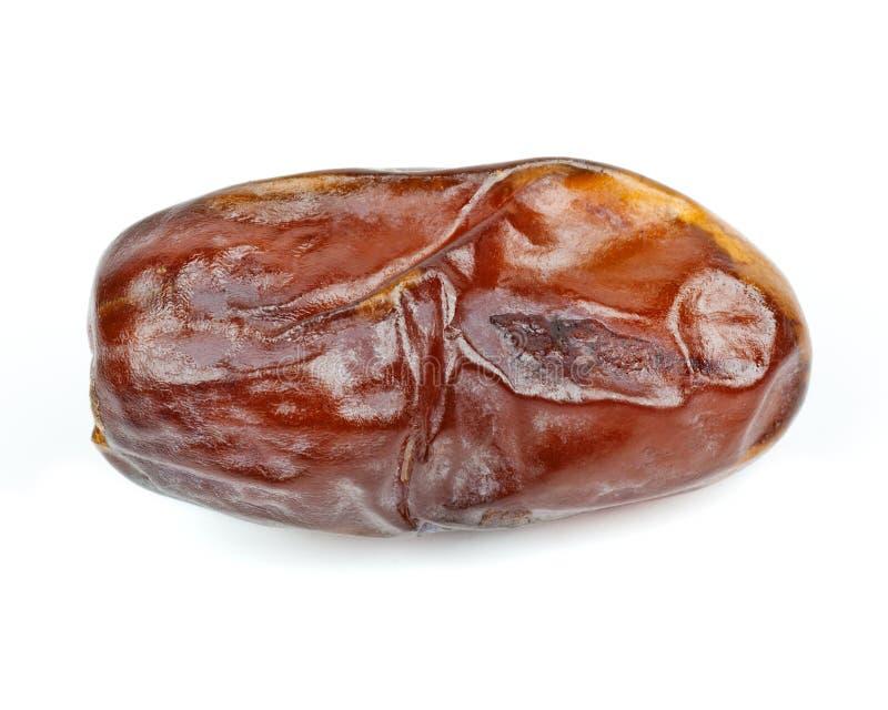 Date fruit. Isolated on white background stock image