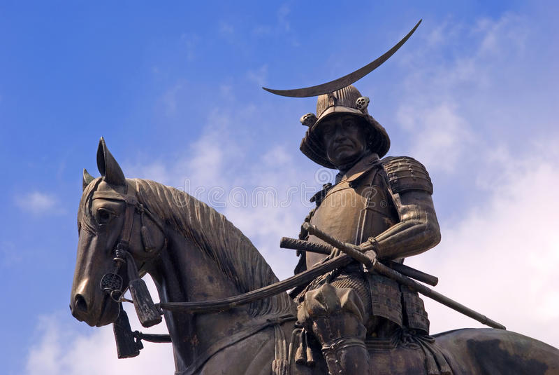 Date Masamune, Sendaï, Japon image libre de droits