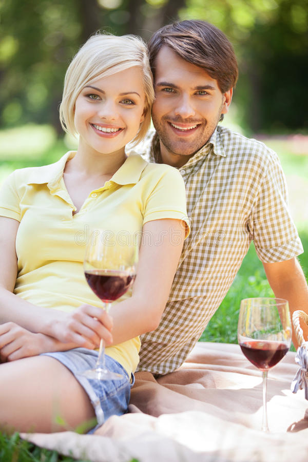 Download Date in park. stock image. Image of cheerful, 30, drink - 32765007