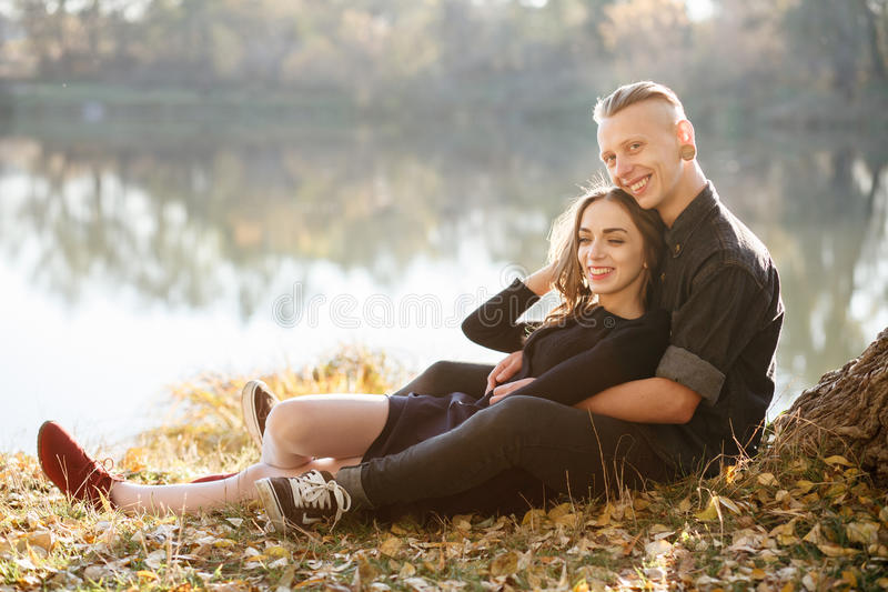 Download Date in park stock image. Image of length, outdoors, couple - 36328401