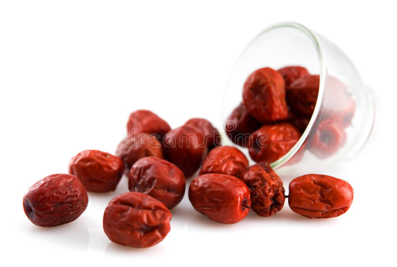 Date rouge photo stock