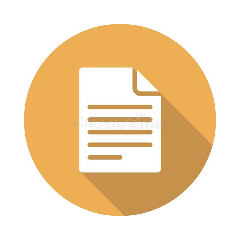 Datei-Ikone vektor abbildung