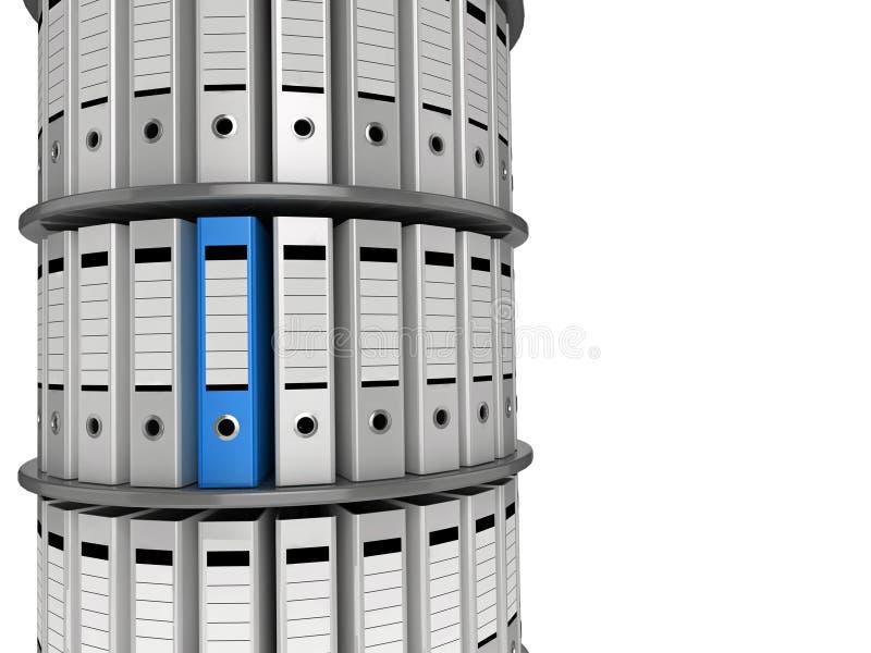 Dateien 3d lizenzfreie abbildung
