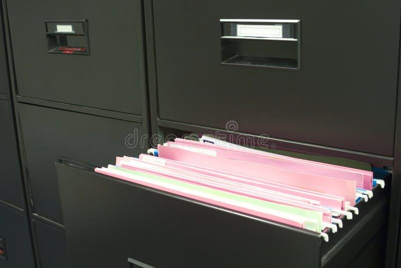 Dateikabinett stockbilder