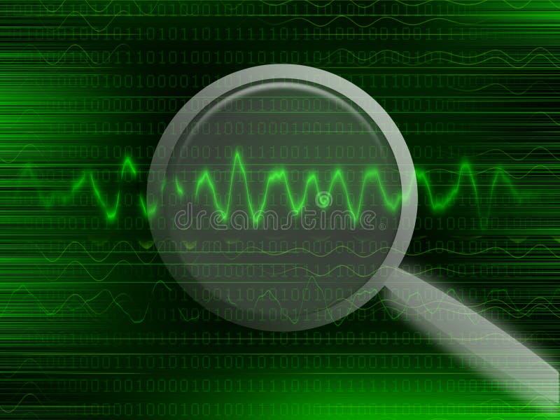 Daten lizenzfreie abbildung