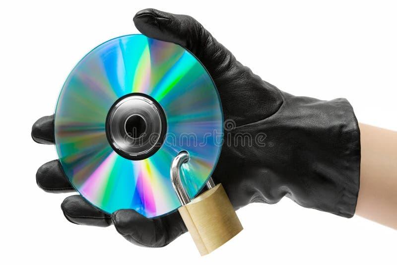 Daten-Diebstahl lizenzfreie stockfotografie