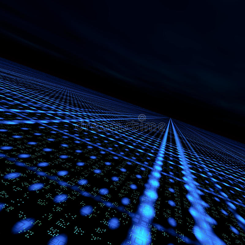Daten-Matrix-Rasterfeld lizenzfreie abbildung