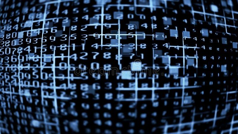 Daten-Technologie 0306 stockfotos