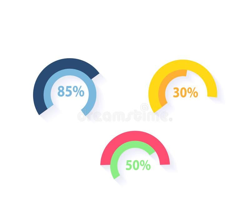 Daten-Werkzeug-Finanzierung Diagramm Und Grafik Vektor Abbildung ...