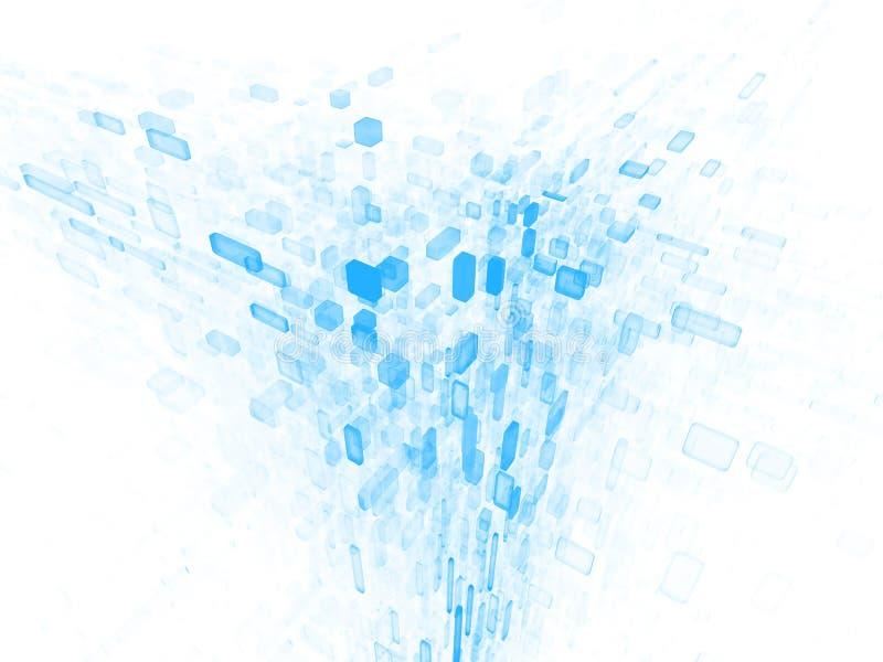 Daten-Wolke lizenzfreie abbildung