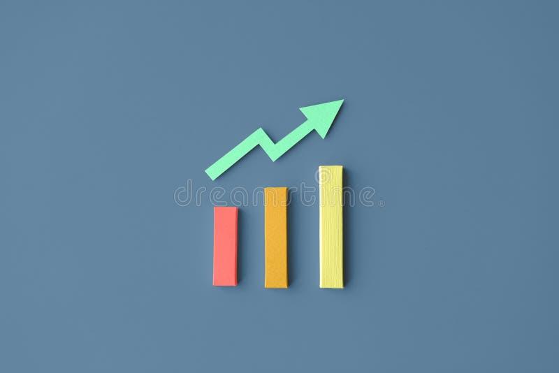 Datenanalyse-Geschäfts-Informations-Tatsachen-Diagramm-Konzept lizenzfreie abbildung