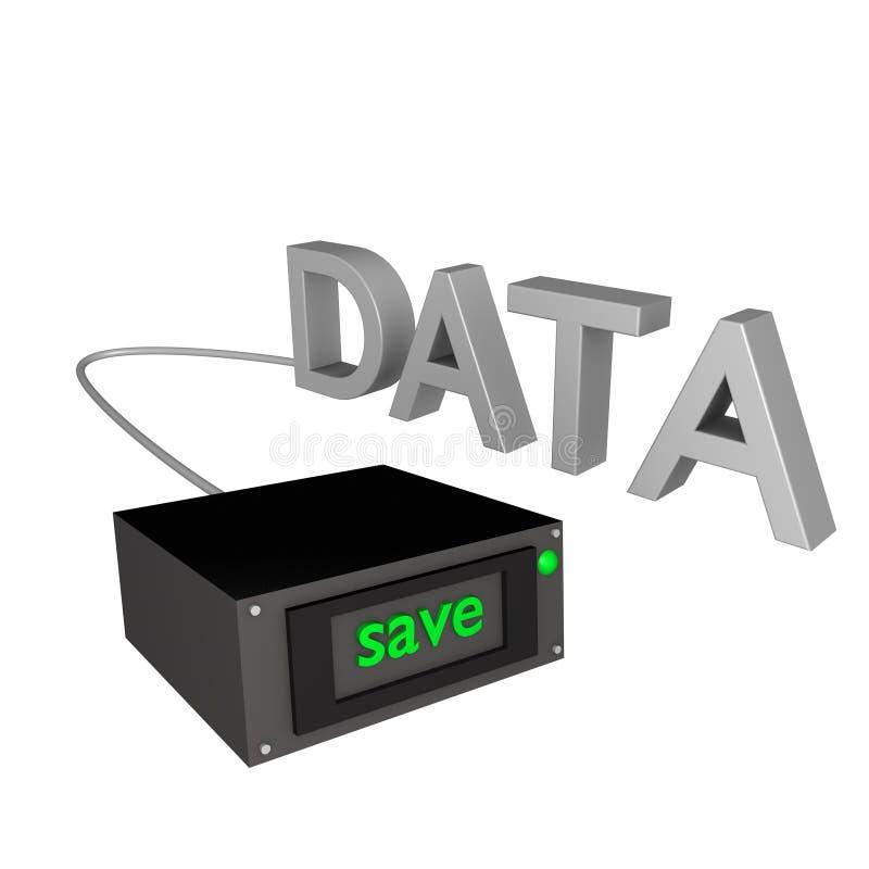 Datenbackup 3d