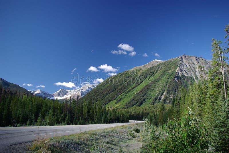 Datenbahn 93 Alberta lizenzfreie stockfotos