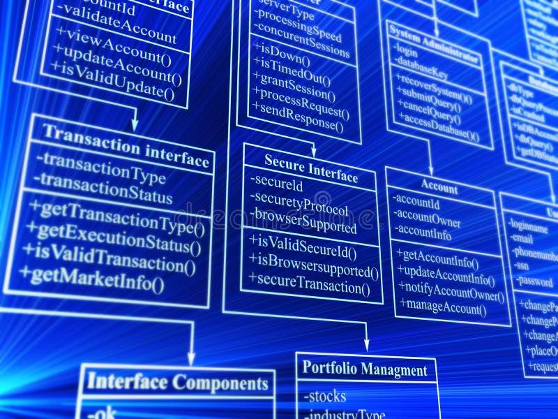 Datenbank lizenzfreie abbildung