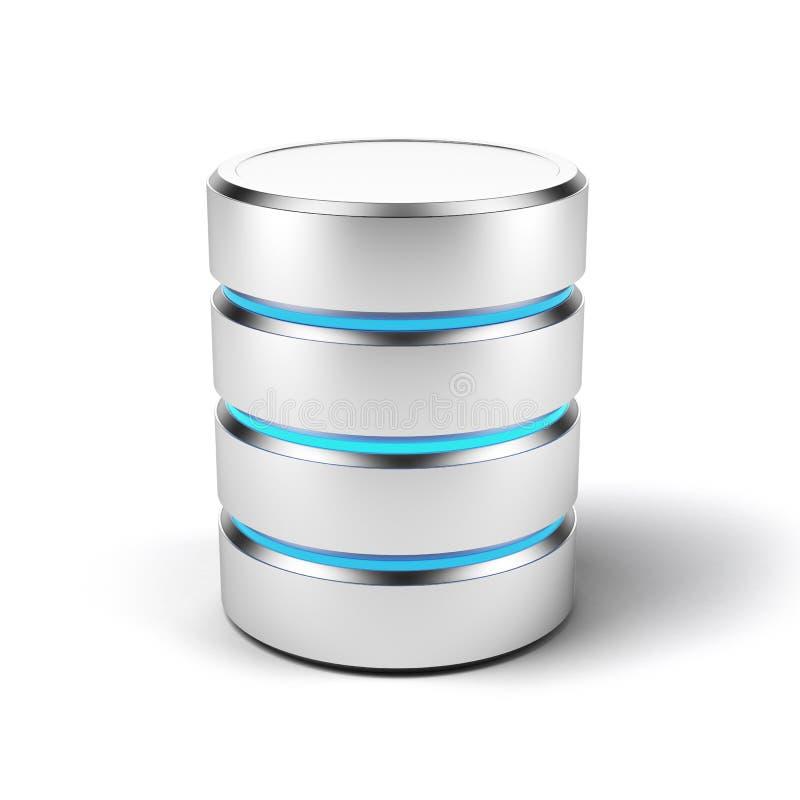 Datenbank- Ikone vektor abbildung