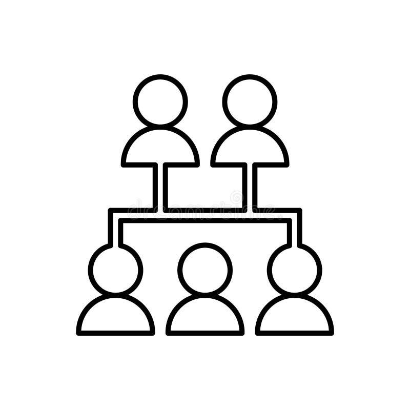 Datenbank, Server, Netzikone - Vektor Datenbankvektorikone vektor abbildung