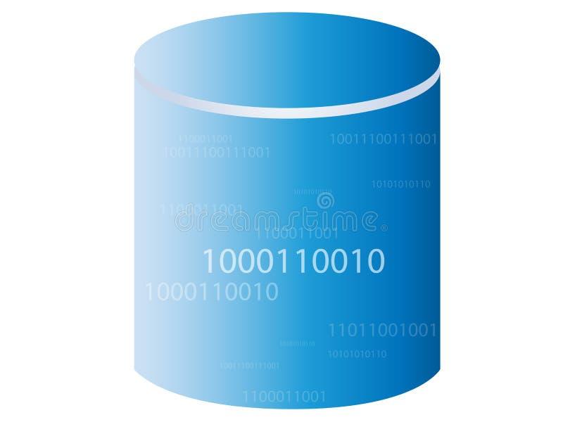 Datenbank/Speicherung stock abbildung