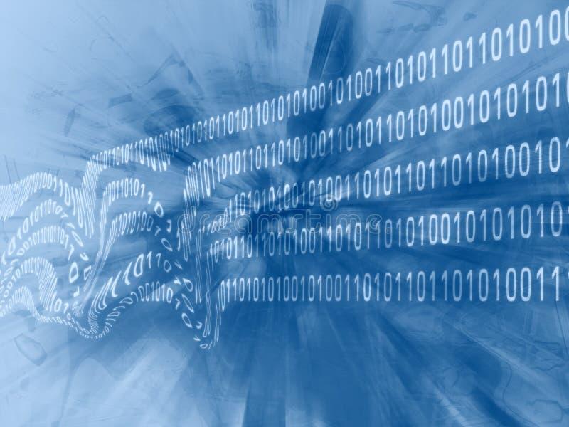 Datenkorruption lizenzfreie abbildung