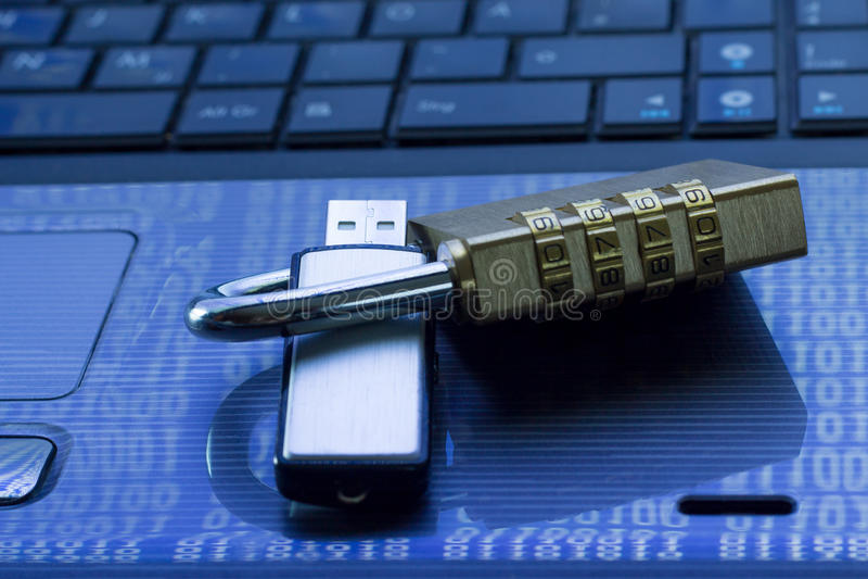 Datensicherheit stockbild