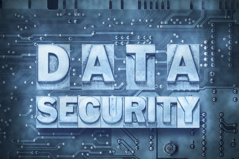 Datensicherheits-PC-Brett stockfoto