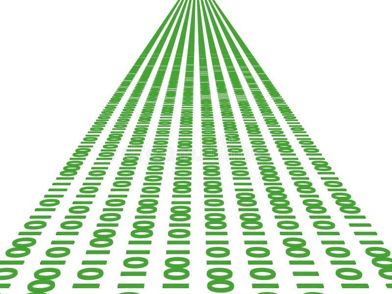 Datenstrom lizenzfreie abbildung