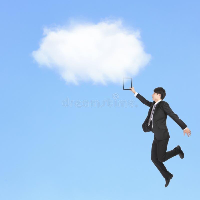 Datenverarbeitungskonzept der Wolke lizenzfreie stockfotos