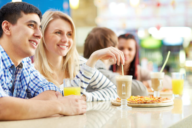 Download Dates in cafe stock photo. Image of company, cocktail - 33657056