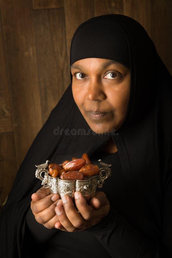 Dates pendant le Ramadan photographie stock libre de droits