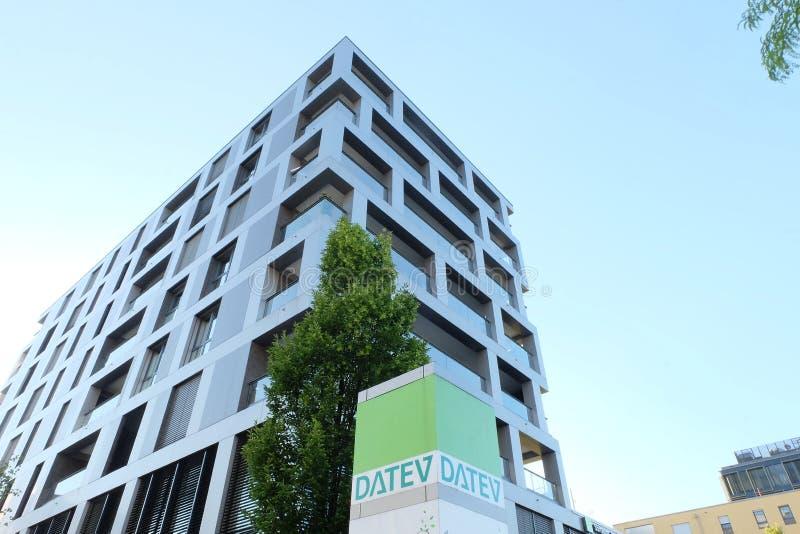 Datev siège le bâtiment à Munich photos libres de droits