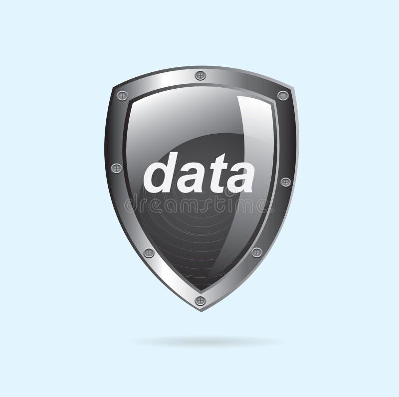 Dati di sicurezza illustrazione di stock