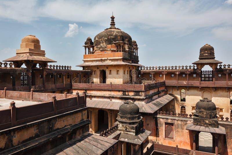 Datia palace in Madhya Pradesh, India. Datia palace indian architecture. Madhya Pradesh, India stock image