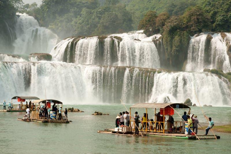 Datian siklawa w Chiny (Cnotliwa Niebiańska siklawa) zdjęcie royalty free