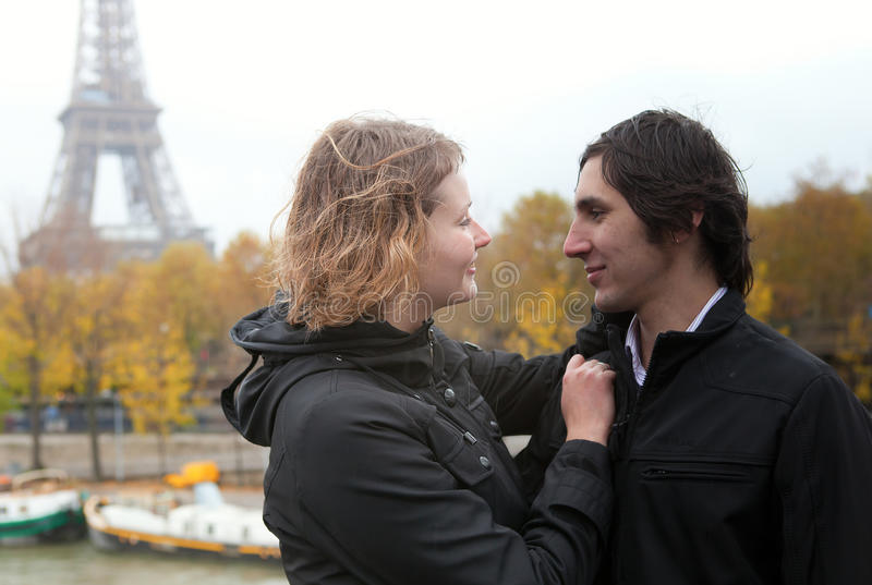 Download Dating couple in Paris stock photo. Image of france, date - 16936730