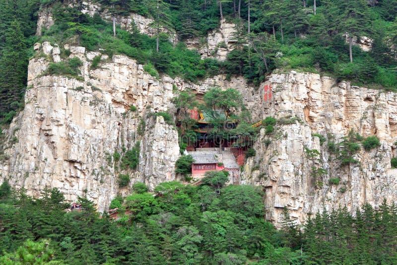 Datong hengshan, Shanxi, Cina fotografia stock