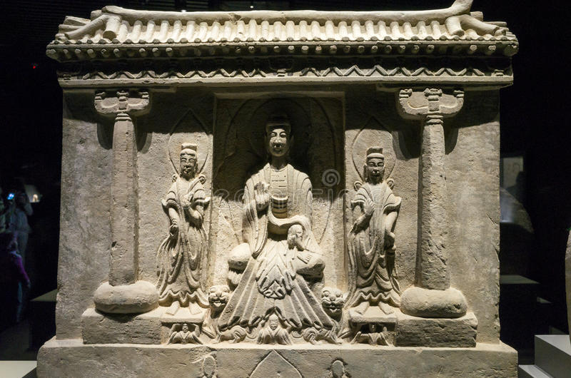 Datong Museum stock images