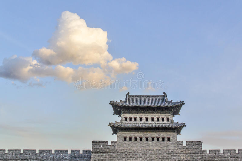 Datong, Shanxi, Κίνα στοκ εικόνες