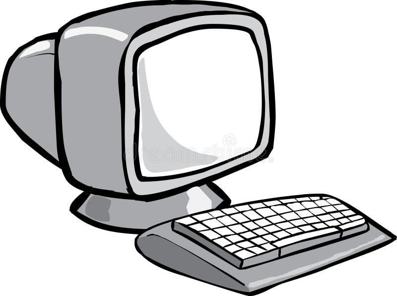Download Dator vektor illustrationer. Illustration av teckning - 2618298