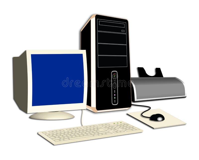 dator royaltyfria bilder