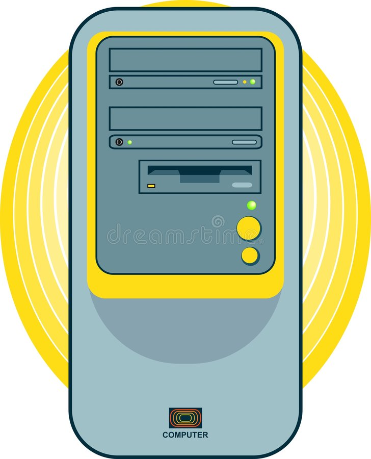 Download Dator vektor illustrationer. Bild av datorer, diagram, objekt - 47799