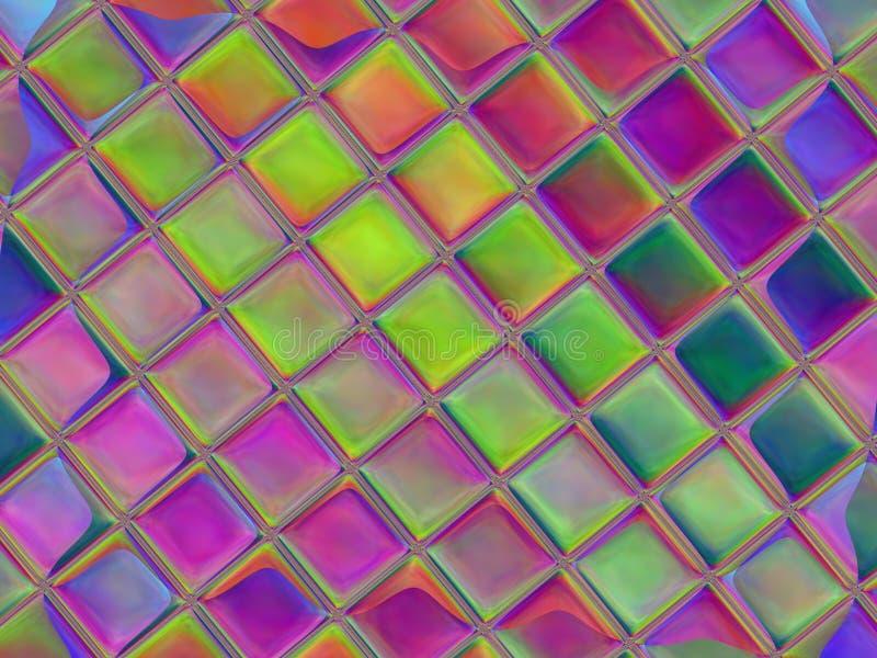 Datoren frambragte konstverk f?r id?rik konst, design och underh?llning vektor illustrationer