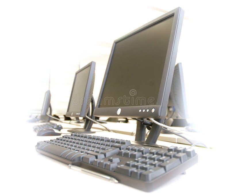 datorer royaltyfri fotografi