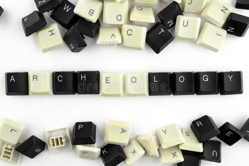 Datorer och datatekniker i branscher och f?lt av m?nsklig aktivitet - begrepp axeln p? en vit bakgrund fr?n royaltyfri bild