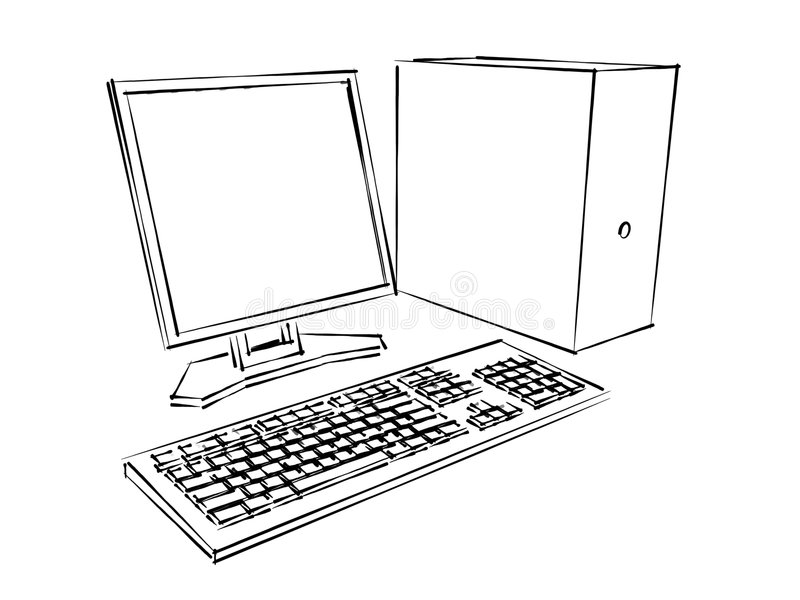 datormarkörplan arkivfoton
