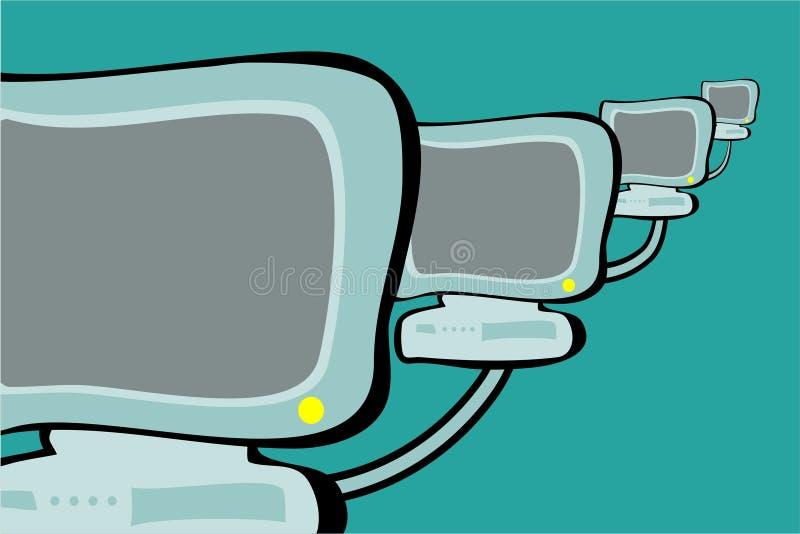 Download Datornät stock illustrationer. Illustration av nätverkande - 280580