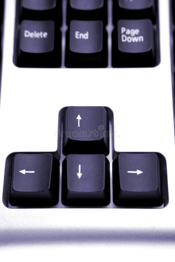 datortangentbord arkivfoto