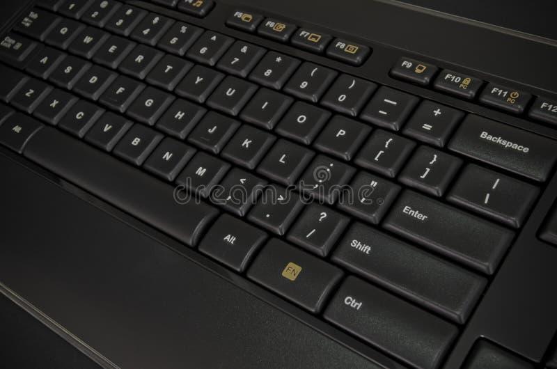 Datortangentbordavsnitt royaltyfri bild