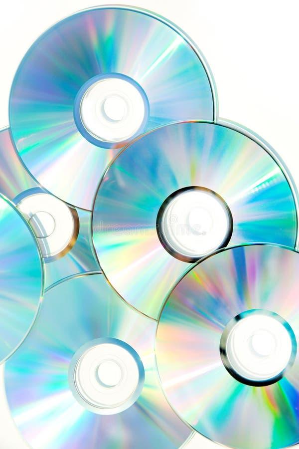 Datos ópticos Imagen de archivo libre de regalías