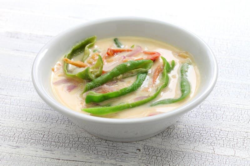Datshi Ema, бутанское тушёное мясо сыра chili стоковая фотография