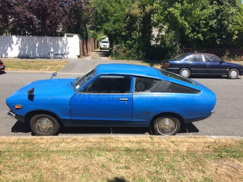 Datsun 120 Y stary zegar zdjęcia stock